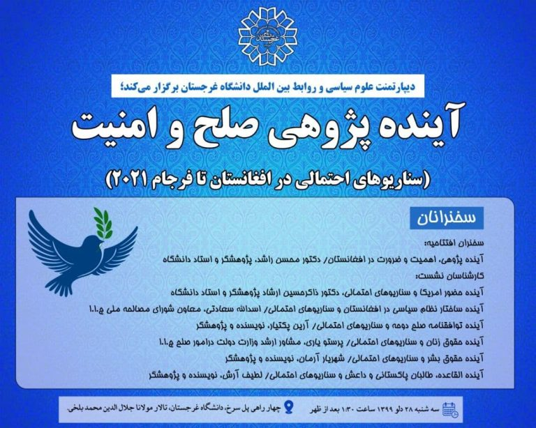 Read more about the article سمینار آیندهپژوهی صلح و امنیت
